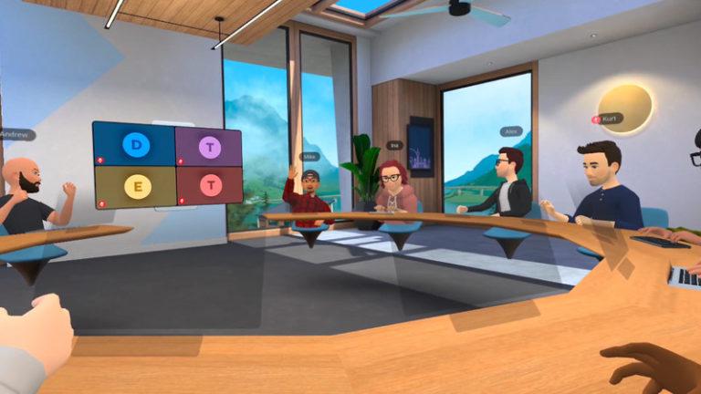 Facebook lança salas de reunião em realidade virtual